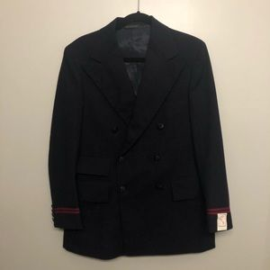 Twa by Ralph Lauren blazer sports coat navy blue